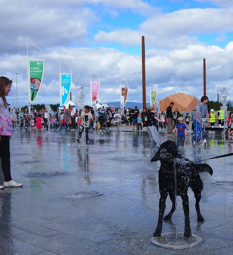 Visitor photo from The Helix and The Kelpies