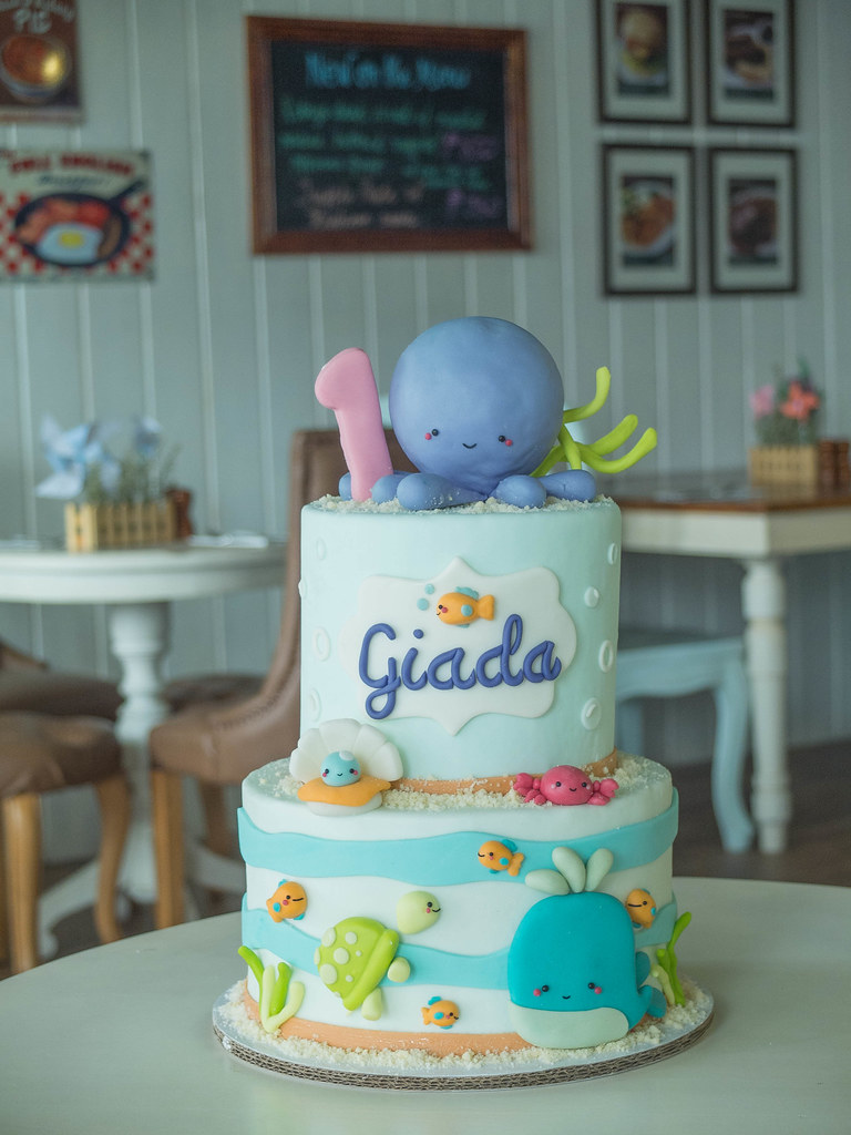 Cakes Under The Sea Cottontail Cake Studio Sugar Art