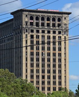Detroit - Michigan Central from Michigan and 18th - July 8, 2014  (3)