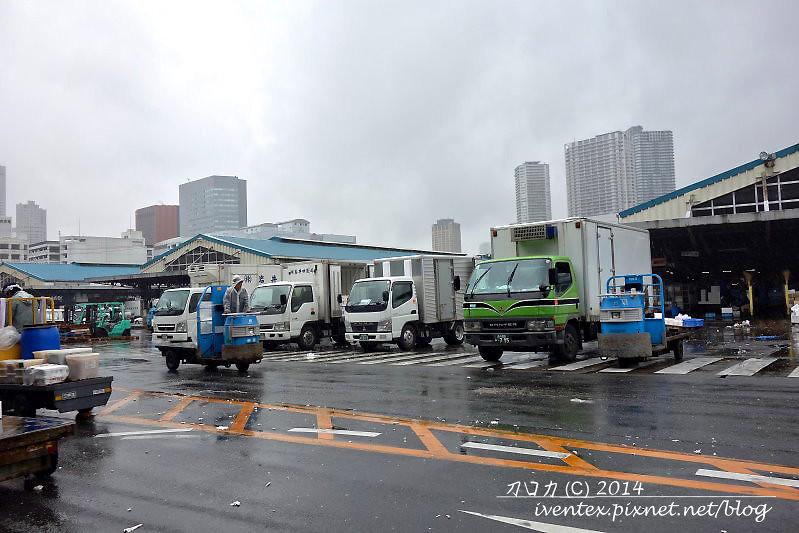 12日本東京築地市場