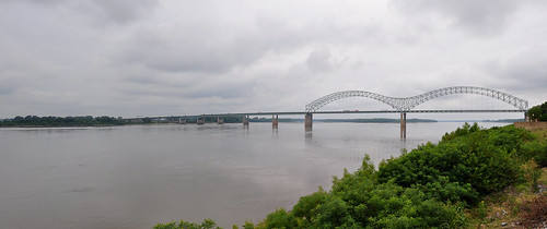 bridge panorama usa river mississippi memphis tennessee mississippiriver memphistn citytrip mudislandriverwalk bluestrail2014