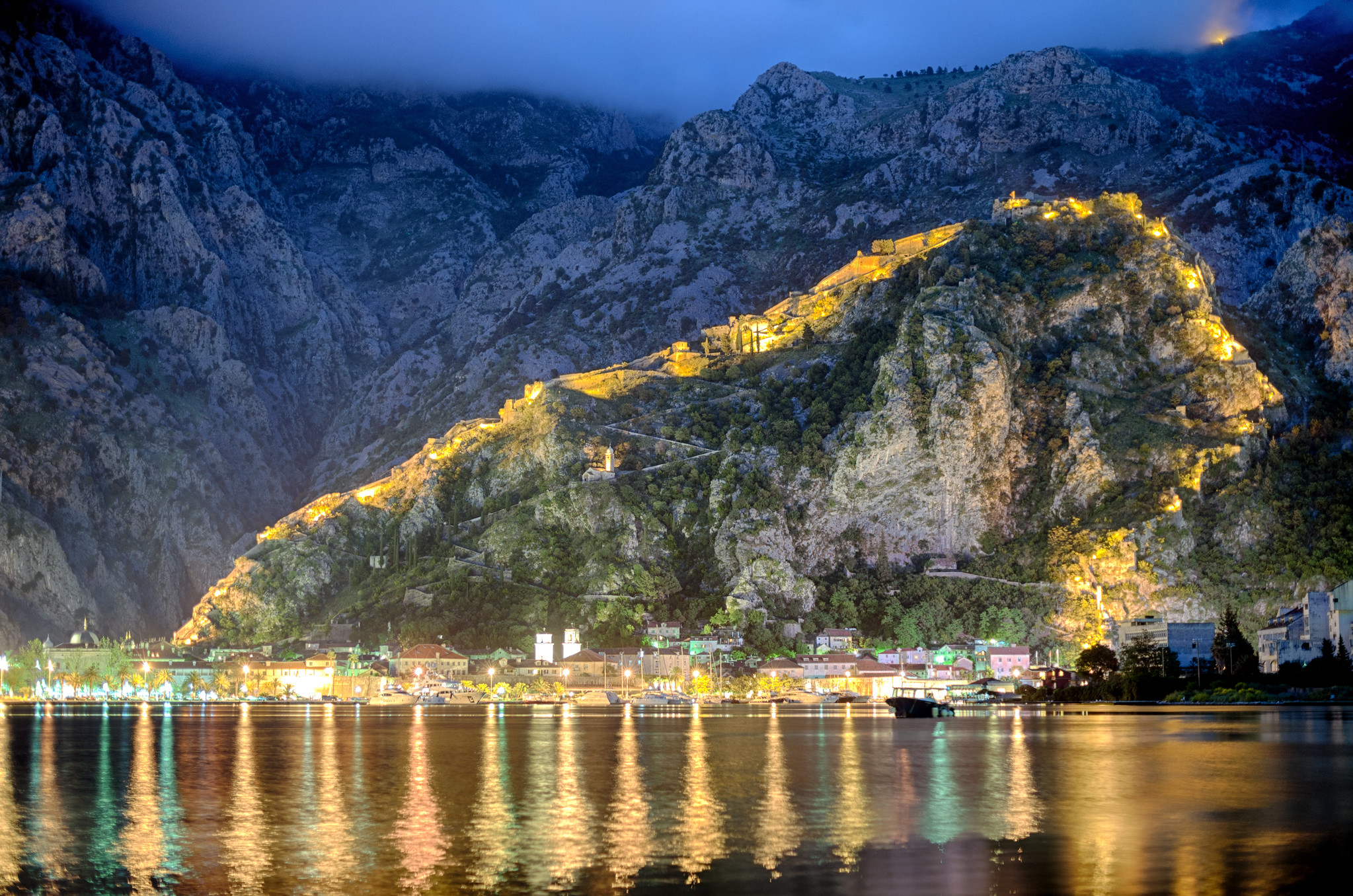 Evening in Kotor
