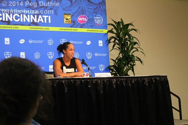 Madison Keys  2014 Western & Southern Open: press conferences pictures 14709622840 36e6535077 z