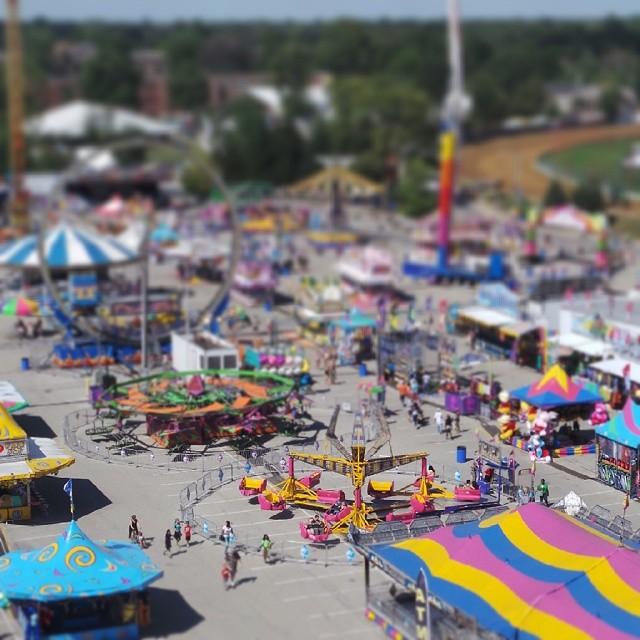 Tiny toy fair. #igersindy