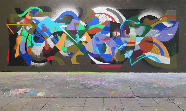 Collaboration Mural With Berenice.