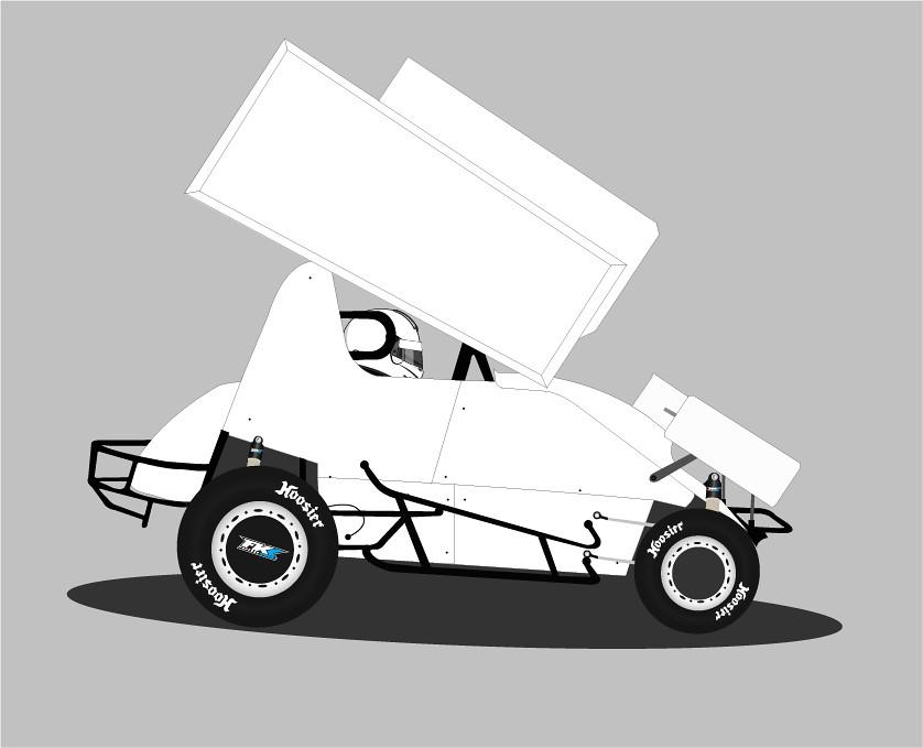 sprint car template