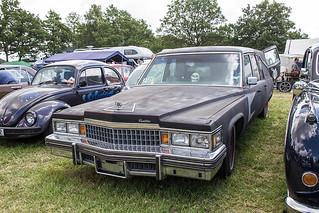 Oldtimermarkt Bockhorn 2014 - Cadillac Leichenwagen
