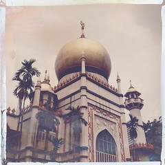 Sultan Mosque, Singapore #hipstaroll_week146
