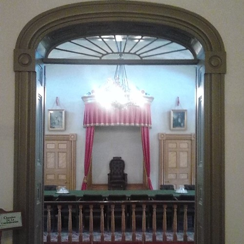 Where the Fathers of Confederation met in 1864 #pei #pei150 #princeedwardisland #charlottetown #provincehouse #fathersofconfederation