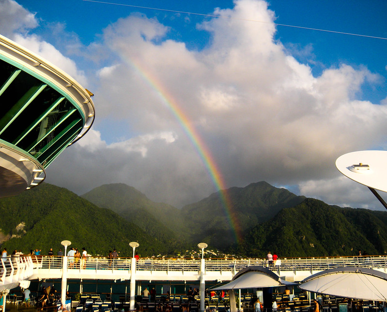 Rainbow Over Dominica