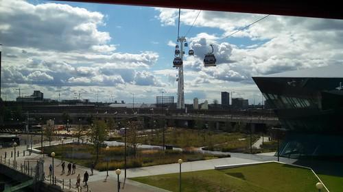 Leaving Docklands