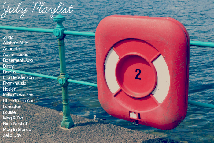 july playlist - Scottish lifestyle blog