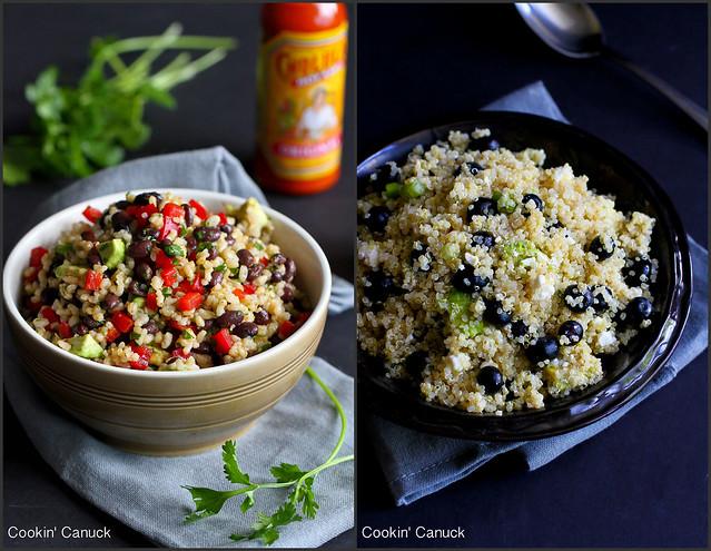 Whole Grain Side Dish Recipes | cookincanuck.com #vegetarian #vegan