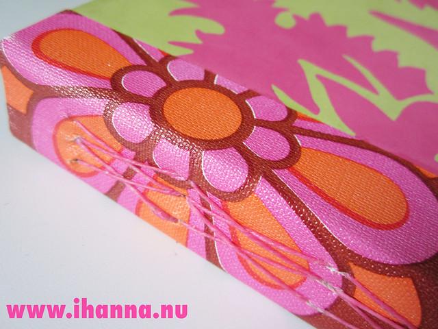 The Diamond x Stitch Spine on new Art Journal by @ihanna #bookbinding