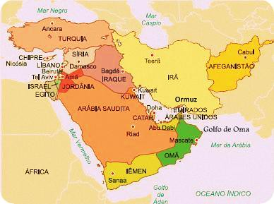 Ásia - Oriente Médio