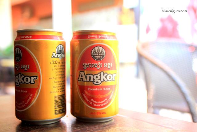 Siem Reap Cambodia Angkor Beer
