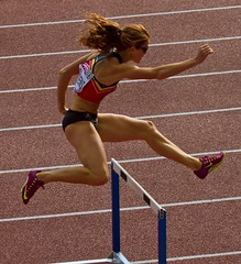 athletics, track and field athletics, 110 metres hurdles, championship, obstacle race, 100 metres hurdles, sports, running, hurdle, heptathlon, person, hurdling, athlete,