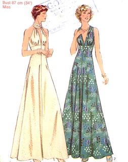 STyle 1154 halter dress