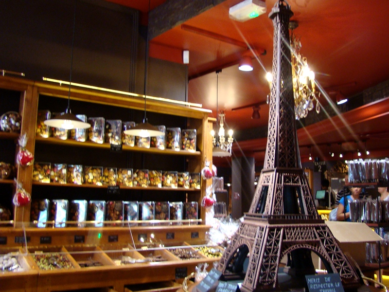 Montmartre chocolate shop