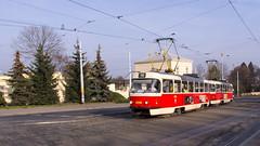Prague tram 8068