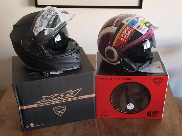new Nexx helmets