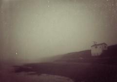 scapa in the fog