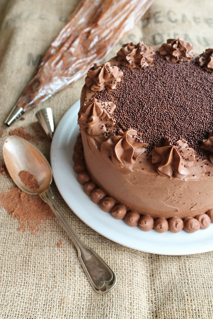 Layer cake Nutella