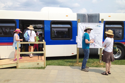 Checking Out BRT at the Montgomery County Fair