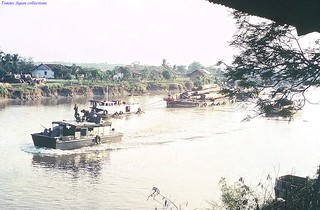 Cho Gao Canal - Dinh Tuong 1972 - Photo by Gene Whitmer