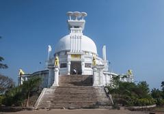 Shanti Stupa at Dhauli giri, Bhubaneswar  - India