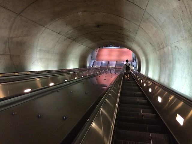 Courthouse Metro escalator