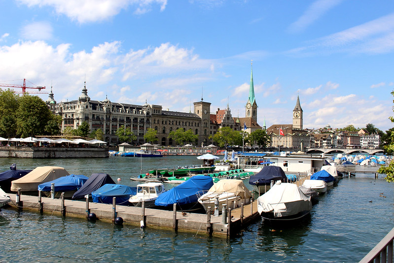 Zurich lakeside