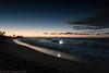 A flash at sunrise