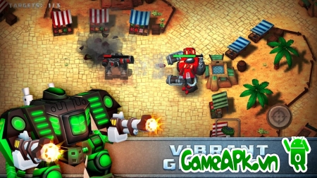 Steel Mayhem v1.0.7 hack full tiền cho Android