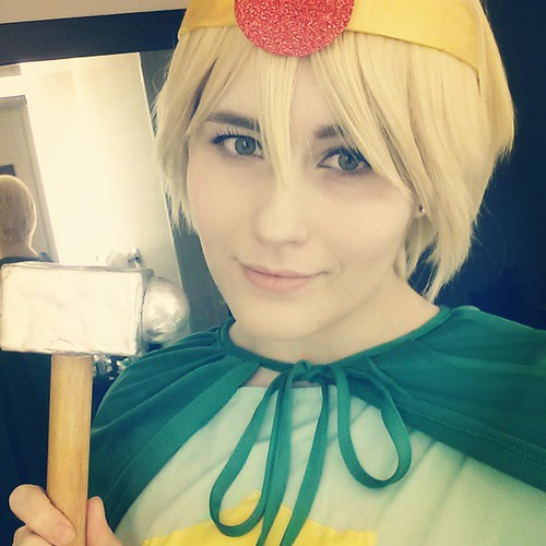 Paladin Butters today! We'll have a big South Park: The Stick of Truth group later! #DragonCon
