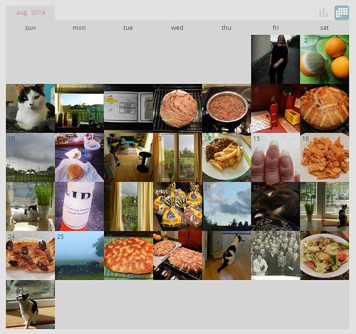 My ShutterCal - August 2014
