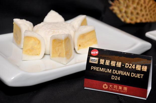 Tai Thong Mooncake 4 Premium Durian Duet D24