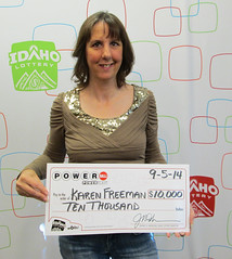 Karen Freeman - $10,000 Powerball