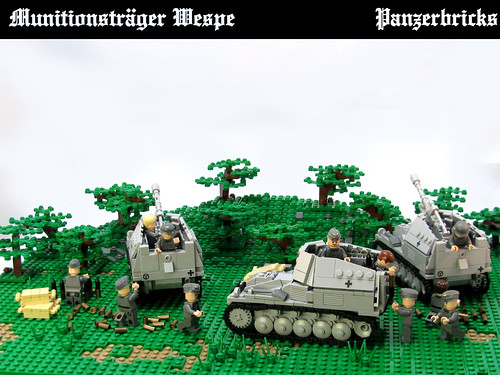 Munitionsträger Wespe de Panzerbricks