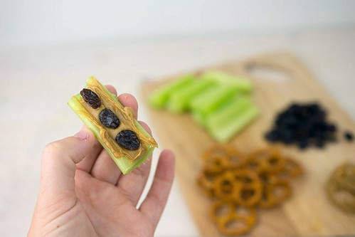 Toddler Butterfly Snack