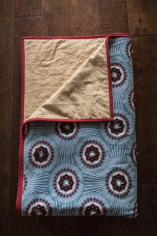 velveteen/linen essex quilt