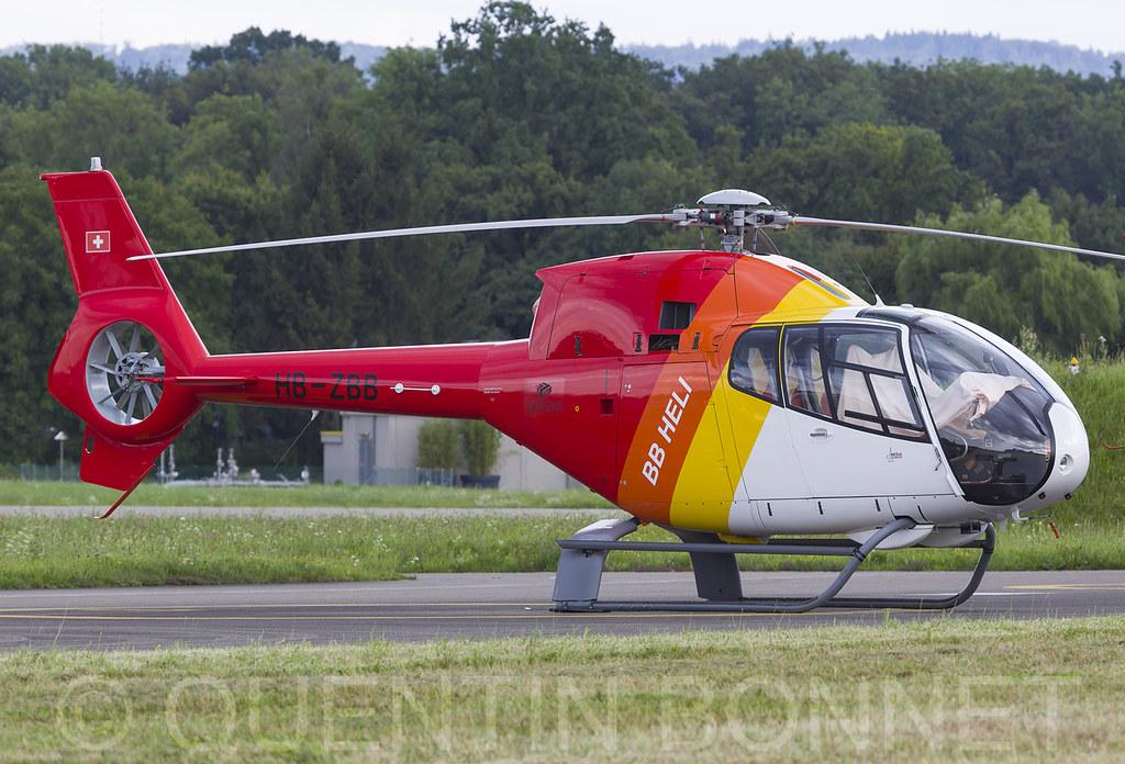 BB Heli Eurocopter EC120 Colibri HB-ZBB