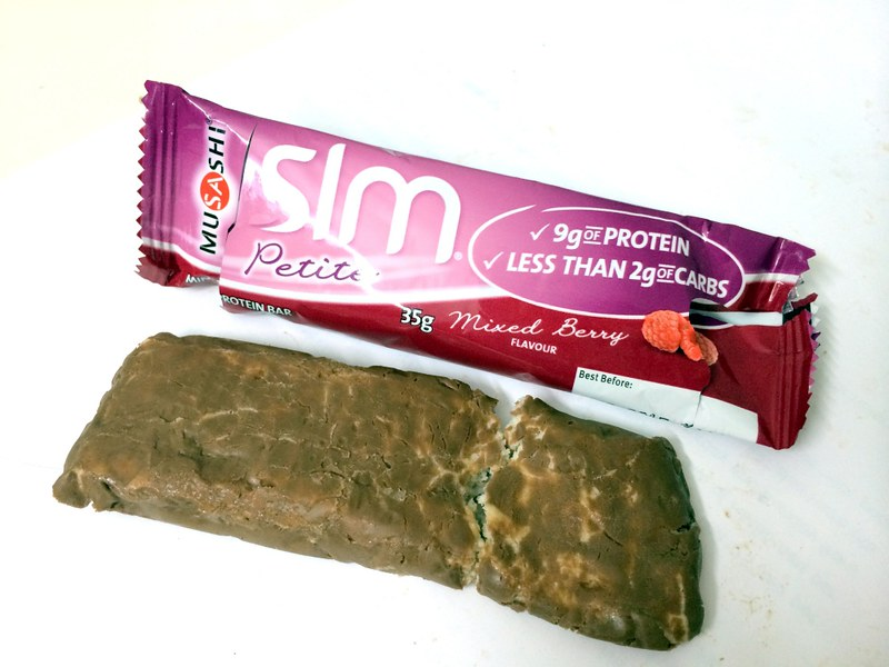 Review SLM PETITE MINI PROTEIN BAR