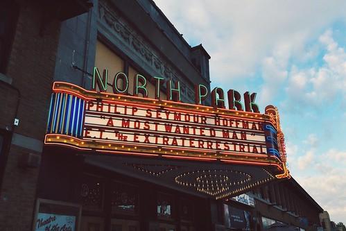 north park theatre.