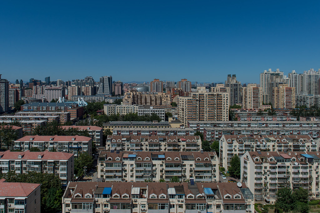 Looking north near Chaoyang Park