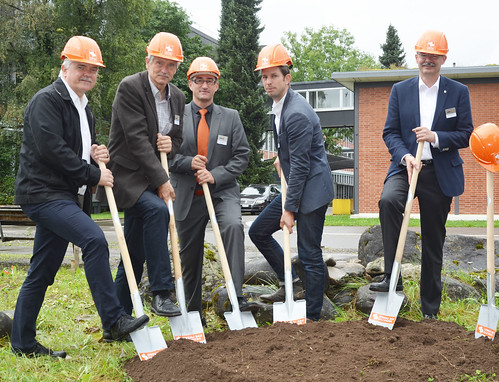 NEST ground breaking ceremony