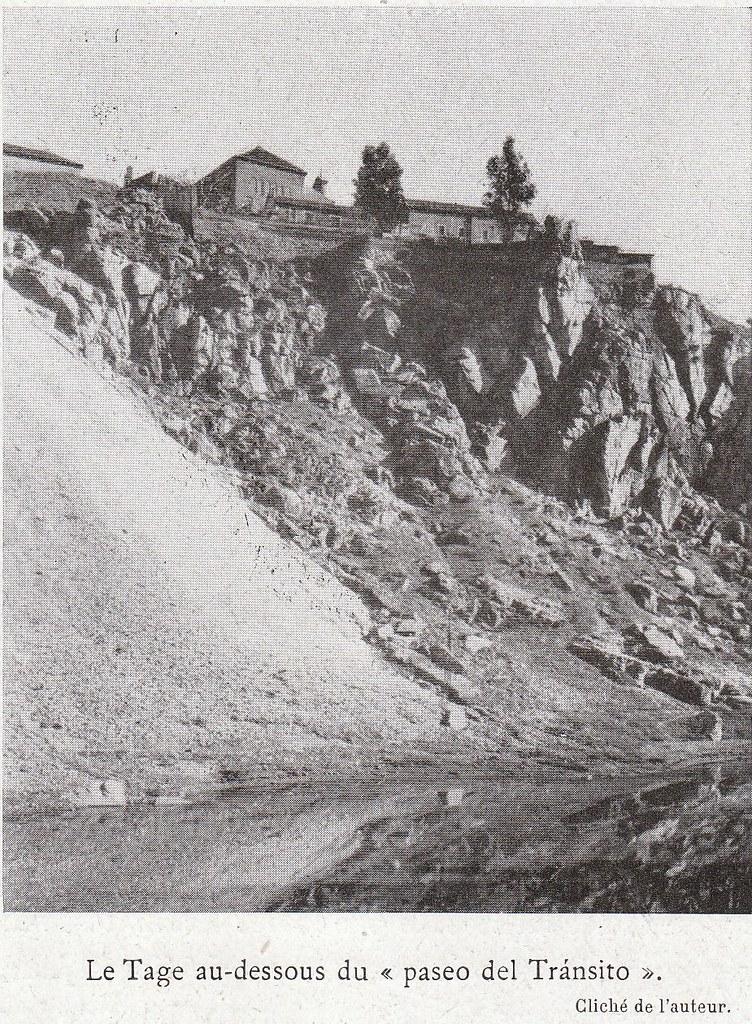 Roca Tarpeya a comienzos del siglo XX. Fotografía de Élie Lambert publicada en su libro Les Villes d´Art Célebres: Tolède (1925)