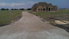 Driveway completed 9/17