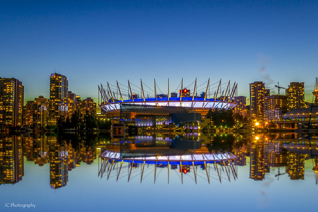 Reflections of BC Place
