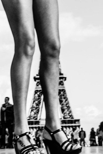 Sorry Madam but ... I want to see the Tower, Paris 2014